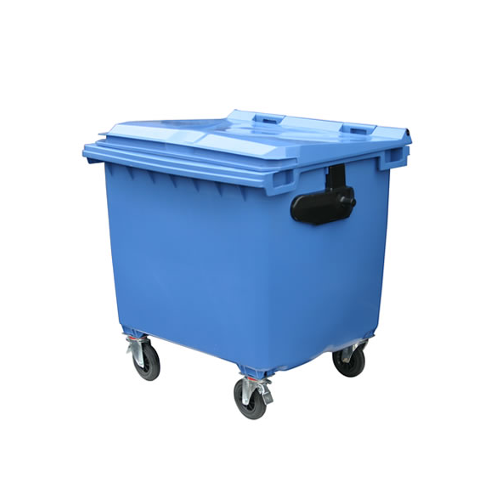 Mobile Wheelie Bin Blue - 1100L