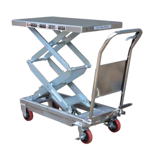 Scissor Lift Trolley Double