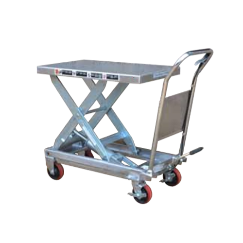 Scissor Lift Trolley Single