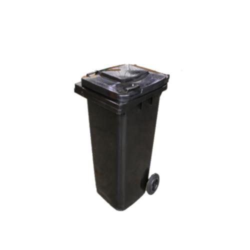 Wheelie Bin Black - 120L