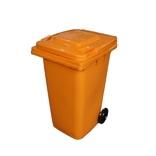 Wheelie Bin Orange - 120L