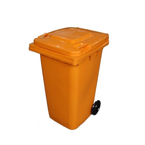 Wheelie Bin Orange - 240L