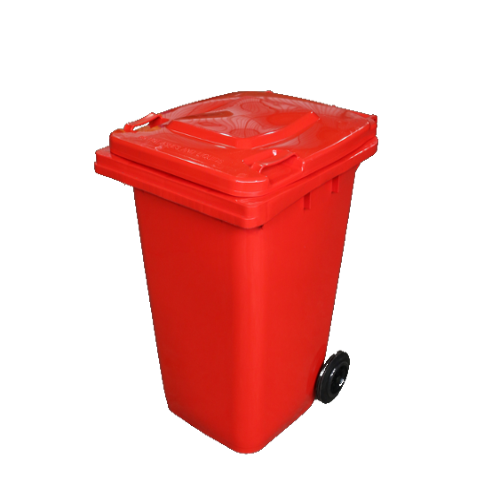 Wheelie Bin Red - 120L