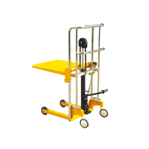 Platform Type Light Duty Stacker