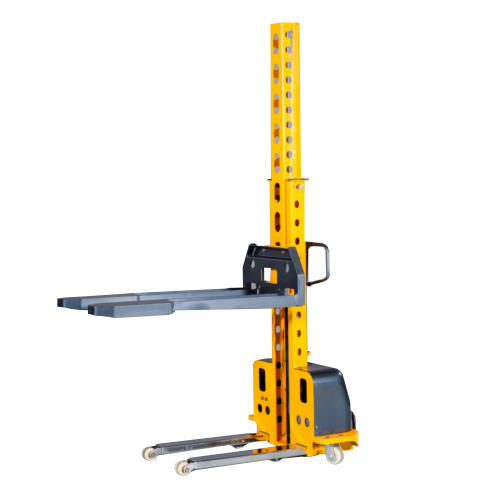 Semi-Electric Self Lifting Stacker - 500kg 800mm