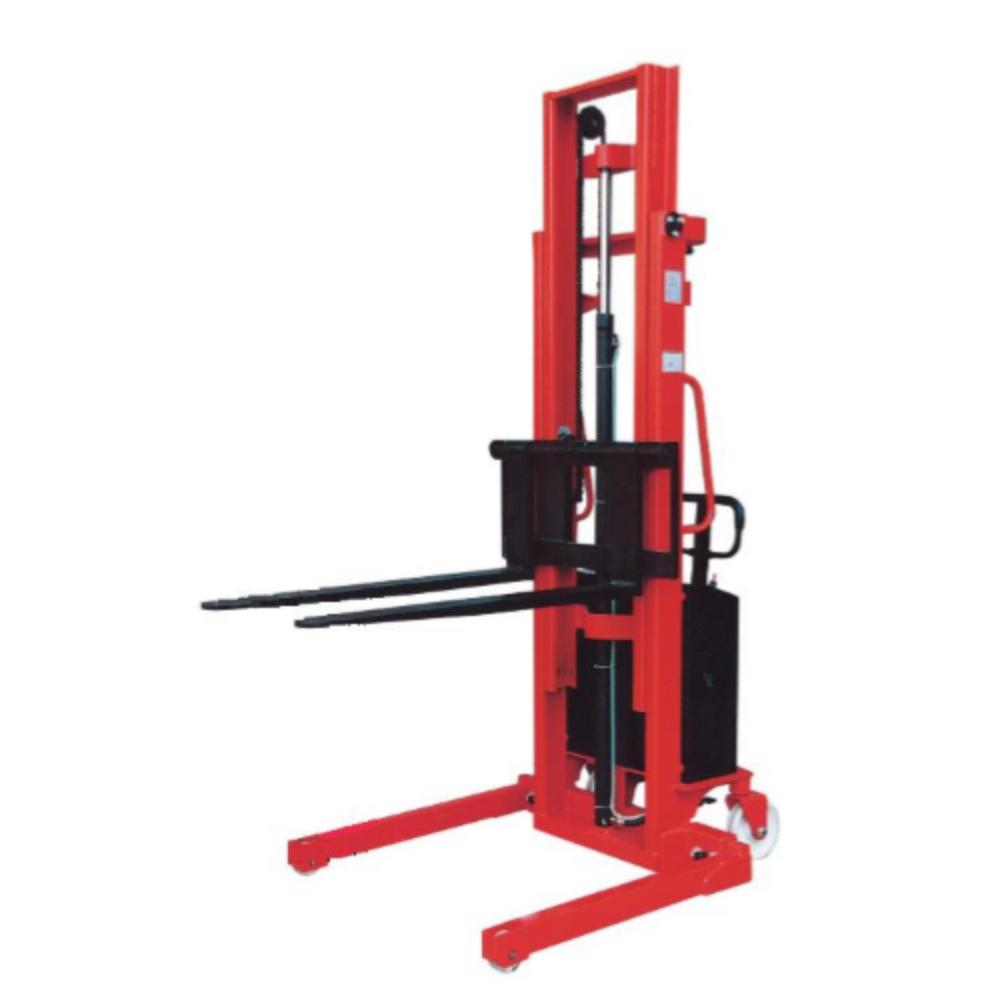 Semi Electric Stacker Adjustable Straddle - 1500kg