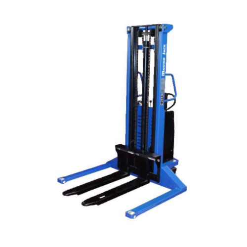 Semi-Electric Stacker Wide Straddle - 1000kg 3000m