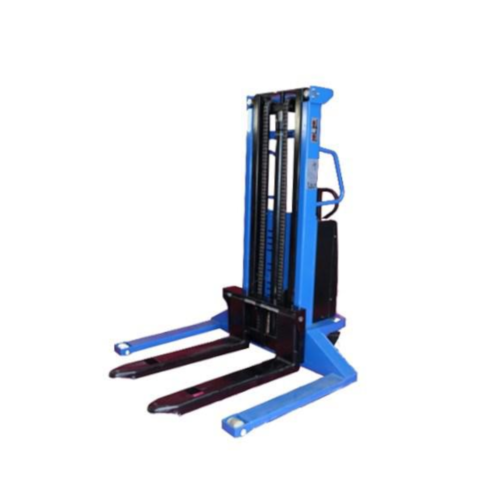 Semi-Electric Stacker Wide Straddle - 1500kg 2500m