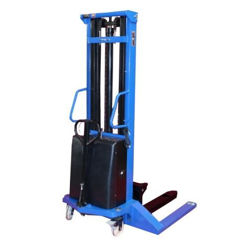 Semi-Electric Stacker Wide Straddle Tall - 3500mm-1