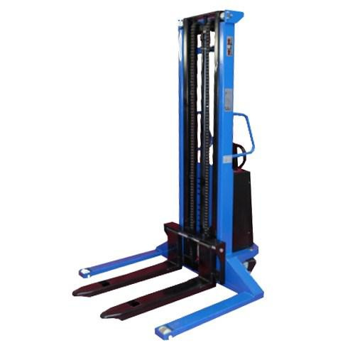 Semi-Electric Stacker Wide Straddle Tall - 3500mm