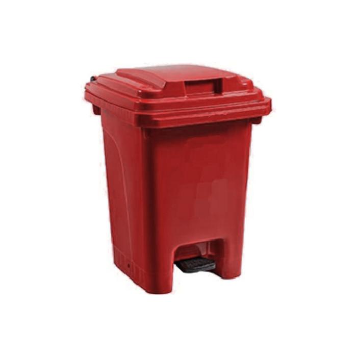 Pedal Bin Red - 60L