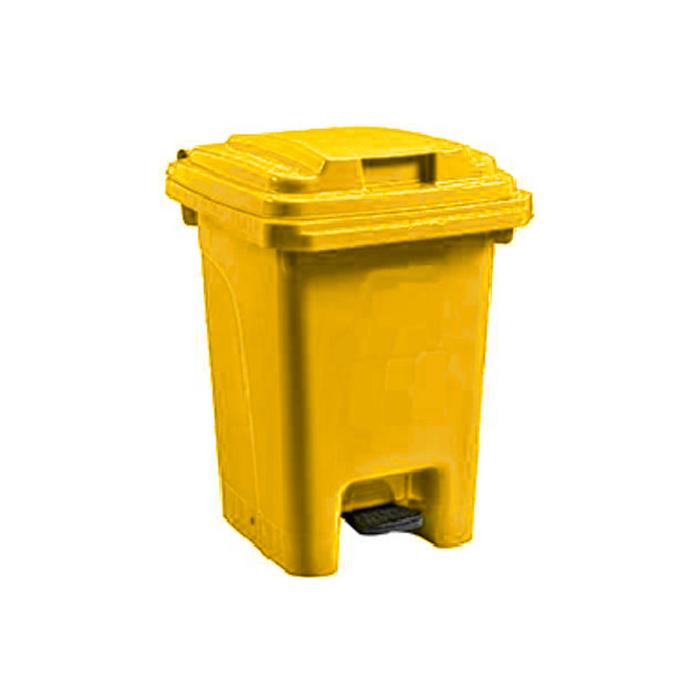 Pedal Bin Yellow - 60L