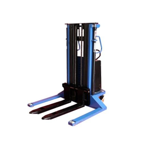 Semi-Electric Stacker Wide Straddle Short - 3500mm