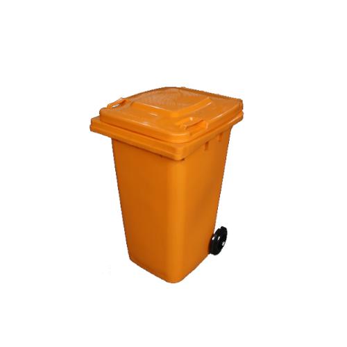 Wheelie Bin Orange – 120L