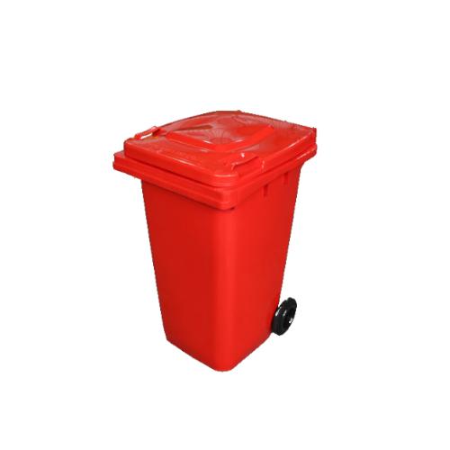 Wheelie Bin Red – 120L
