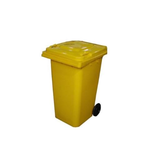 Wheelie Bin Yellow – 120L